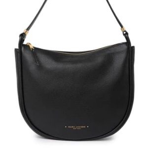 Marc Jacobs NWT Black Leather Hobo Bag